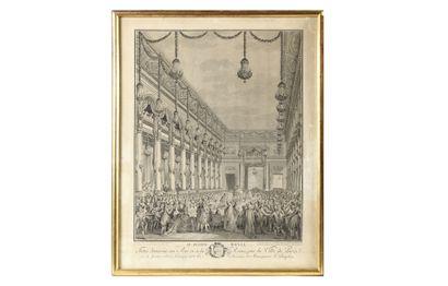 * J. M. MOREAU LE JEUNE (1741-1814) « Le...