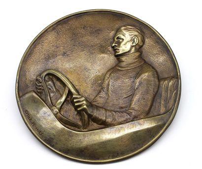 Emile MONIER (1883-1970)  Le pilote  Grand...