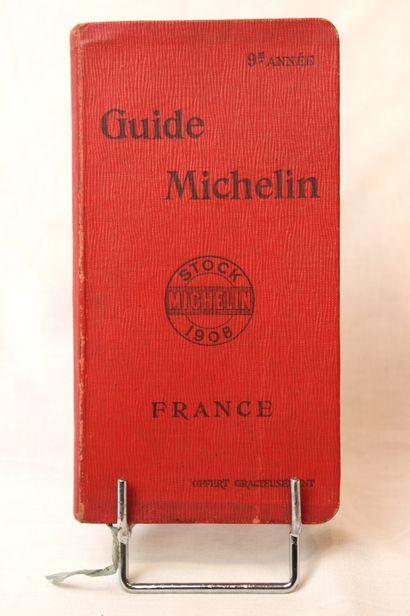 Guide Michelin 1908  Exemplaire de la 9ème...