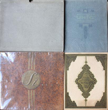 Beaux Catalogues de marques françaises  -«...