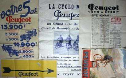Affiches et calendrier Peugeot  Calendrier...