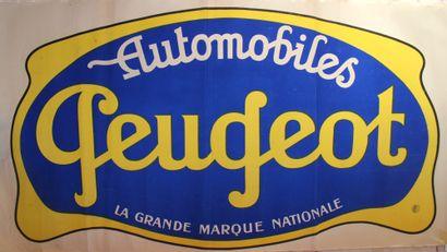 Affiche Peugeot  Affiche promotionelle de...