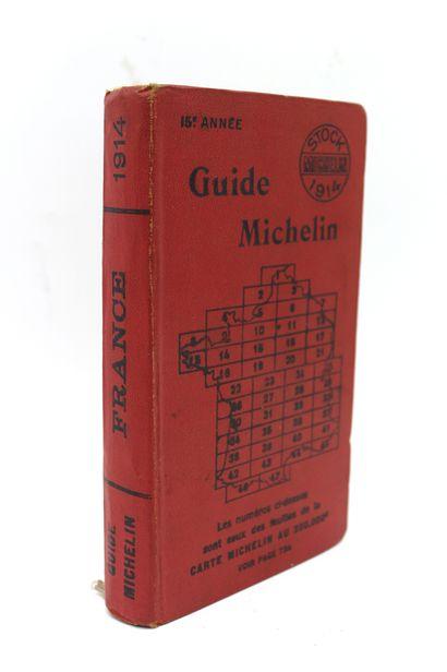 Guide Michelin 1914   Exemplaire de la 15ème...