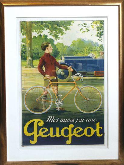Moi aussi j'ai une Peugeot  Affiche d'intérieur...