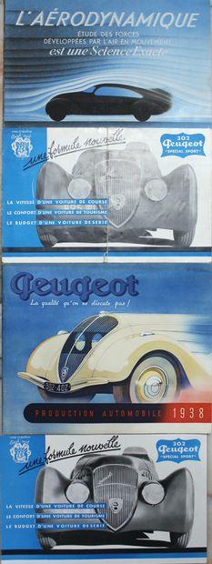 Peugeot 302, 402 & Darl'mat  Catalogue 28...