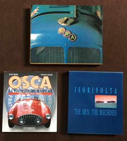 Livres ERA, OSCA et ISO RIVOLTA  -