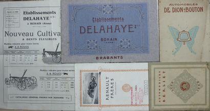 Documentation Française avant 1920  - Automobile...
