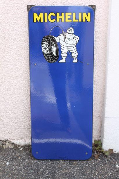 Plaque Michelin  Plaque rectangulaire émaillée...