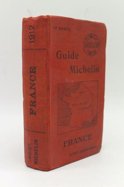 Guide Michelin 1912   Exemplaire de la 13ème...