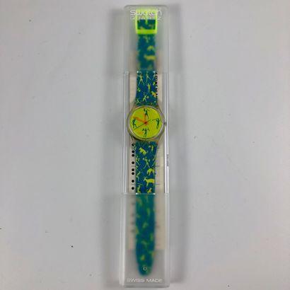 SWATCH Vers 1989. Réf: GK120. Montre bracelet...