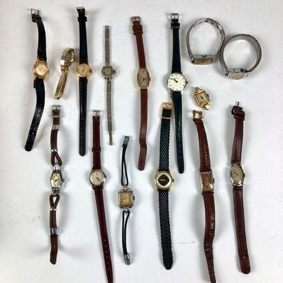 Lot de montres pour dame, semblent fonctionner...