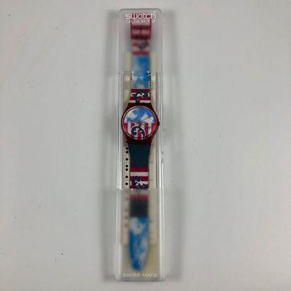 SWATCH  Vers 1990.  Réf: GR109.  Montre bracelet...