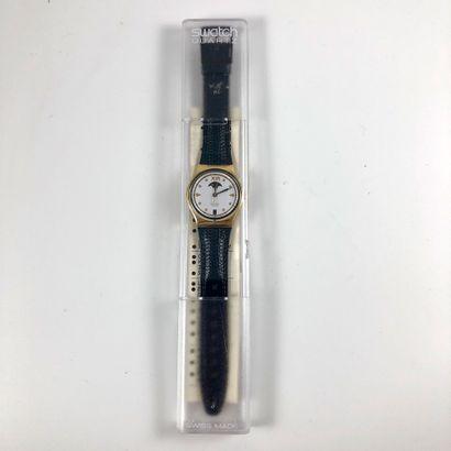 SWATCH Vers 1990. Réf: GX709. Montre bracelet...