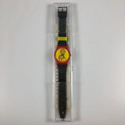 SWATCH Vers 1993. Réf: GR115. Montre bracelet...