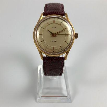 LIP Vers 1970. Réf: 8021XXXX. Montre bracelet...