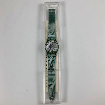 SWATCH Vers 1991. Réf: GG112. Montre bracelet...