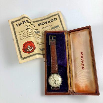 MOVADO TRIPLE QUANTIÈME VERS 1946. Réf :...