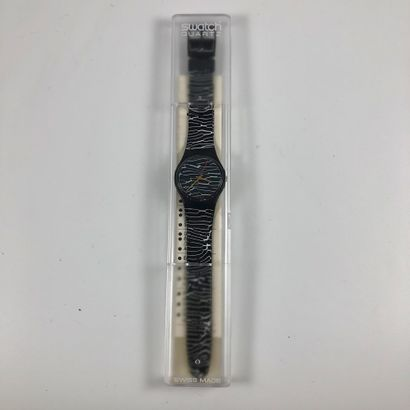 SWATCH Vers 1987. Réf: GB119. Montre bracelet...
