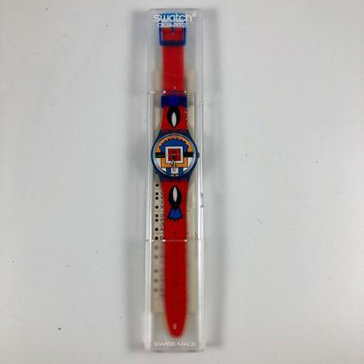 SWATCH Vers 1993. Réf: GN129. Montre bracelet...