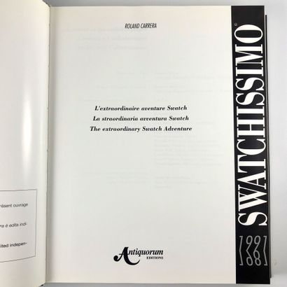 Livre Swatchissimo 1991