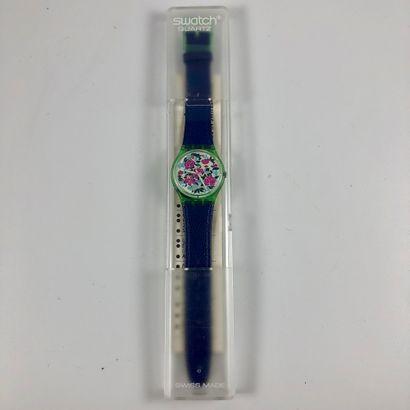 SWATCH Vers 1992. Réf: GG115. Montre bracelet...