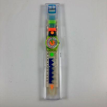 SWATCH Vers 1990. Réf: GN122. Montre bracelet...