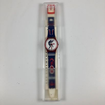 SWATCH Vers 1992. Réf: GR111. Montre bracelet...