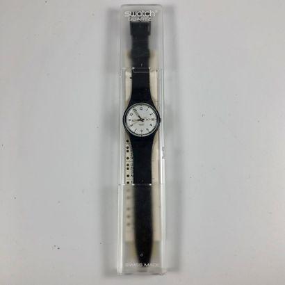 SWATCH Vers 1990. Réf: GN402. Montre bracelet...
