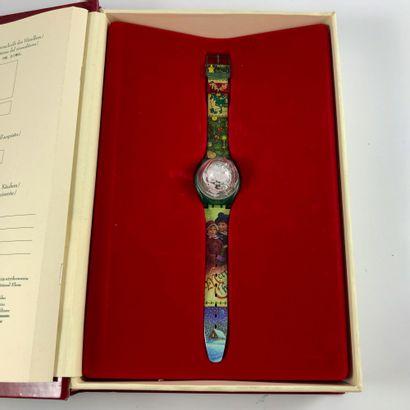 SWATCH THE MAGIC SPELL. VERS 1905. Edition limitée conte de Noël Swatch. Montre...
