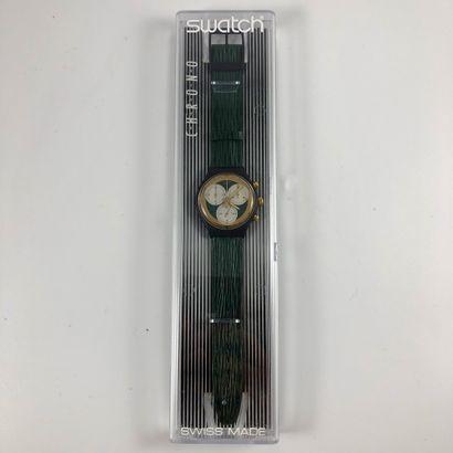 SWATCH Vers 1990. Réf: SCB107. Montre bracelet...