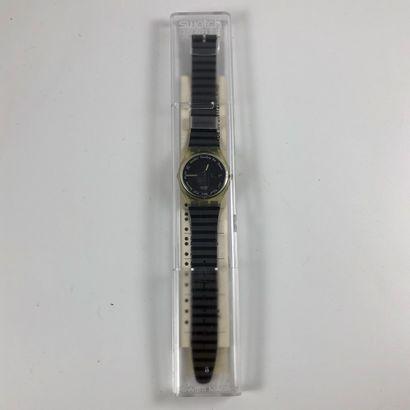 SWATCH Vers 1990. Réf: GK703. Montre bracelet...