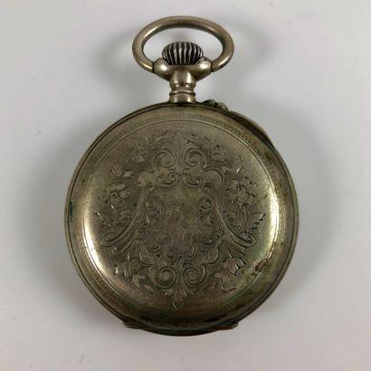 MARCHAL A MONTMEDY  Montre de gousset argent  Vers 1900  Boite en argent, mécanique...
