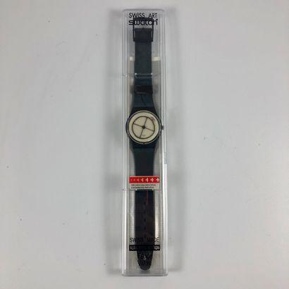 SWATCH  Vers 1991.  Réf: GZ119.  Montre bracelet...