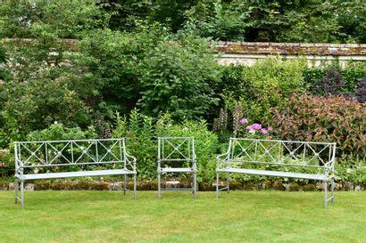 TECTONA Mobilier de salon de jardin comprenant...