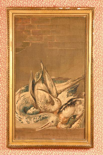 FRANCE Fragment de tapisserie de la manufacture...