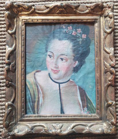 Dans le goût du XVIIIème siècle Buste de...