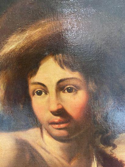 Ecole d'Italie du NORD du XVIII, suiveur de Giovanni Francesco ROMANELLI Couple...