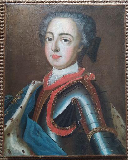 Dans le goût du XVIIIème siècle Portrait...