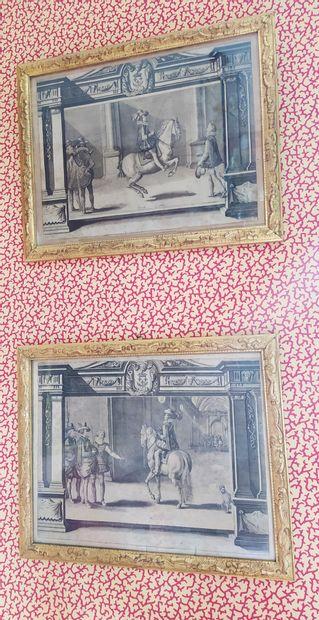 Antoine de PLUVINEL (1555-1620) D'après «...