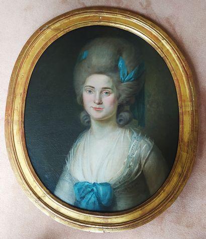 Ecole FRANCAISE vers 1780, entourage de Johann...