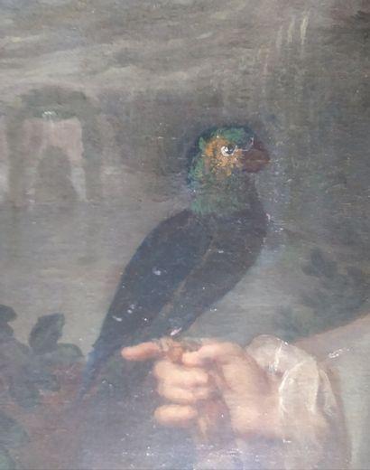 Jan Maurits QUINKHARD (Rees 1688 - Amsterdan 1772) Portrait de jeune garcon de 3...
