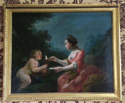 Ecole française vers 1760, entourage de Noel...
