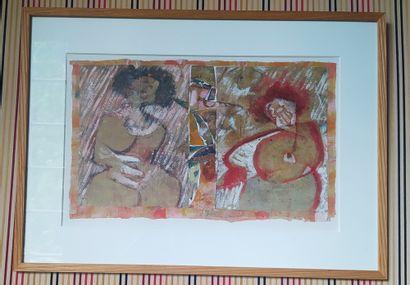 Kenneth Martin SNODGRASS (1934-2000) Huile...