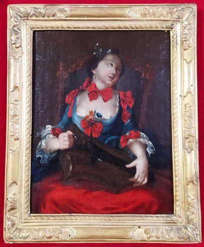 ECOLE FRANCAISE du XVIIIeme siècle, suiveur...