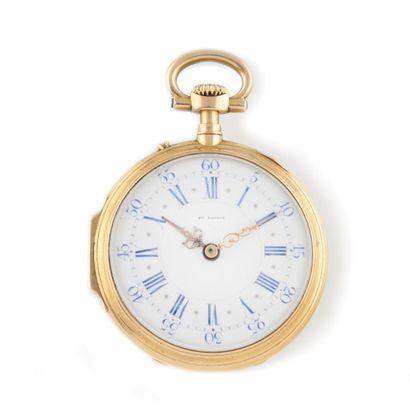 GUSTAVE SANDOZ Horloger de la Marine, Paris....
