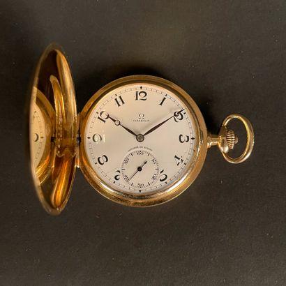 OMEGA Vers 1900 Montre de gousset en or jaune...