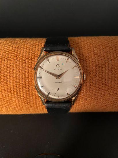 CYMA Cymaflex. Vers 1960. Montre bracelet...