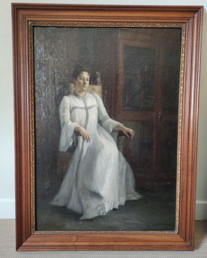 Paul René SCHUTZENBERGER (1860-1916) Portrait...