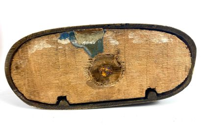 Jules MOIGNIEZ (1835-1894) Deux lapins Bronze à patine brune signé sur la terrasse...