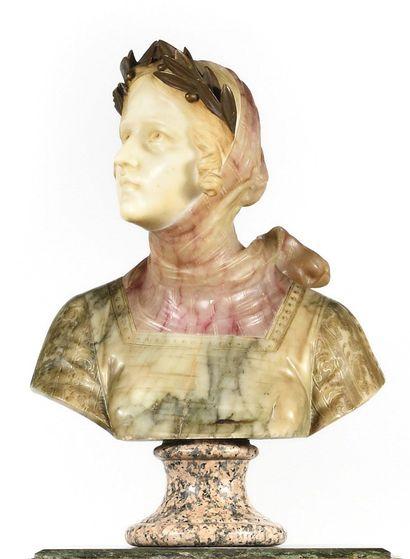 DANS LE GOUT du XVIIe siècle Buste de Femme...